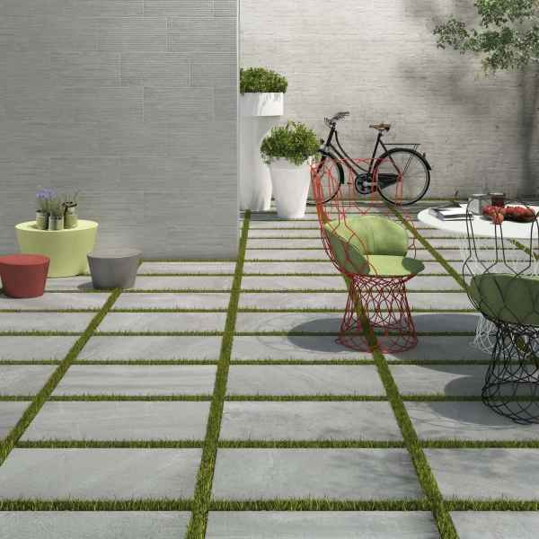 The Element Series - Element 30 in a garden patio