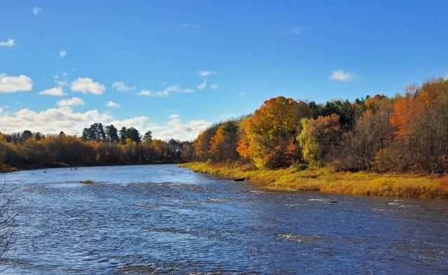 riviere chaudiere saint georges automne
