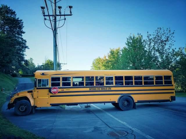 bus scolaire jaune du québec