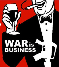 war is business.