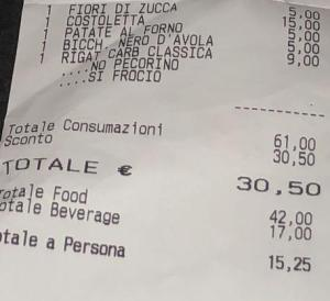 Scontrino omofobo, a Roma ristorante offende coppia gay