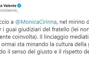 Lucarelli, Valente, Cirinnà e la faccia di legno