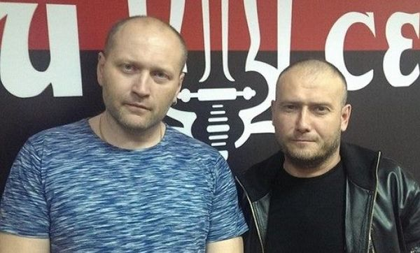 Left: Bereza, Right: Yarosh