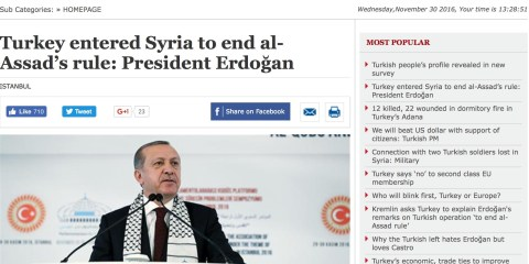 Erdogan war