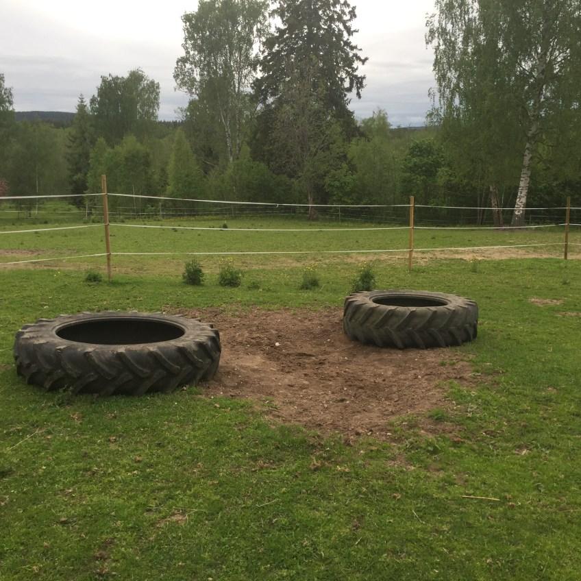 Framsteg och lekpark