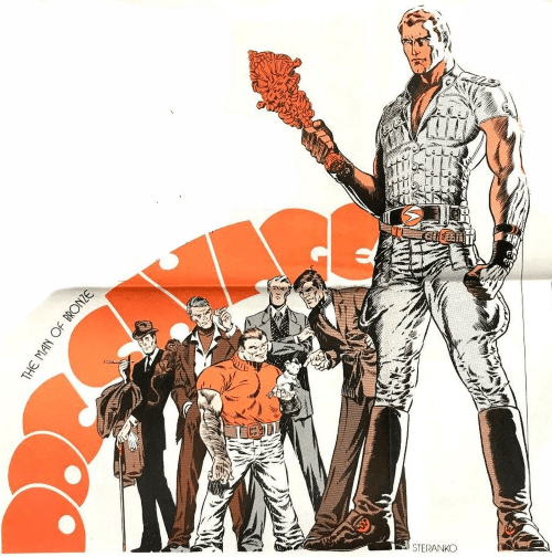 Doc Savage by Steranko!