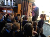 pupils visiting church