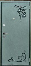 двери в порошке с ковкой под заказ в Москве
