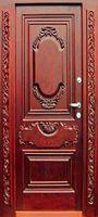 двери с резьбой дубовая