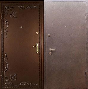 входные двери +с ковкой