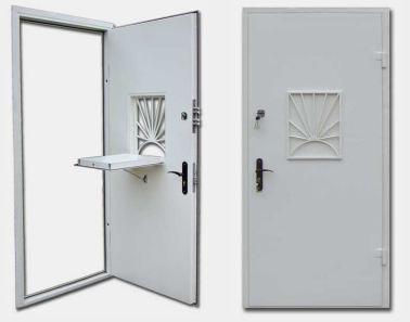 двери стальные с окном +решетка заказть от производителя