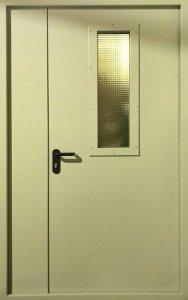 стальные двери с армированным стеклом от производителя заказать