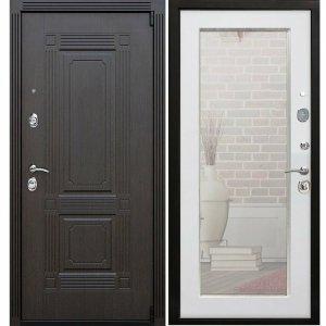 зеркальные цельногнутые двери заказать от завода