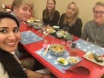 CLR students at ECI
