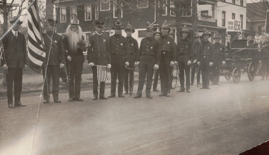 The Rippowam in the 1937 State Fireman Association Convention Parade