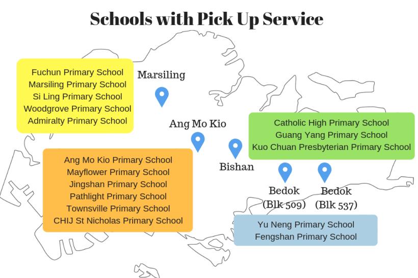 student care schools pick up