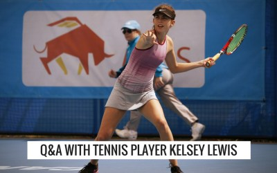 Q&A with Tennis Player Kelsey Lewis