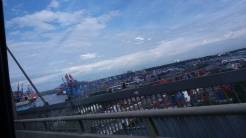Wir genossen das Stadtbild