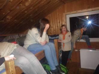 Einrichten im Matratzenlager