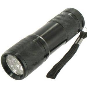 Taschenlampe Schwarz