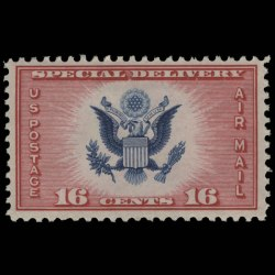 1936 U.S. CE2 Aimail Special Delivery Stamp - image representative only and is from arago.si.edu
