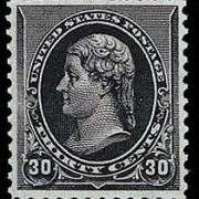 30¢ Jefferson - black