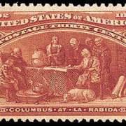 30¢ At LaRabida - orange brown