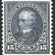 15¢ Clay - dark blue