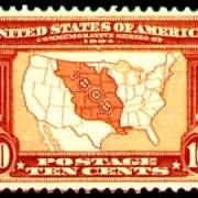 10¢ Map of Louisiana Purchase