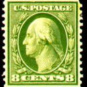 8¢ Washington - olive green