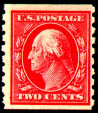 2¢ Washington - carmine