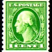 1¢ Washington - green