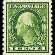 1¢ Washington - green