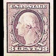 3¢ Washington Type I - violet