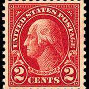2¢ Washington (1923) - carmine