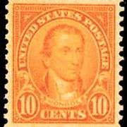 10¢ Monroe (1923) - orange