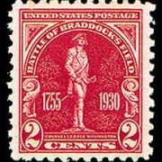 2¢ Braddock's Field