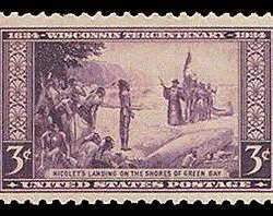 3¢ Wisconsin