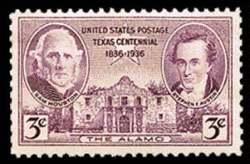 3¢ Texas