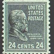 24¢ B. Harrison
