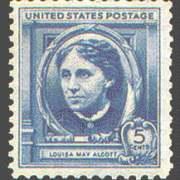 5¢ Louisa May Alcott