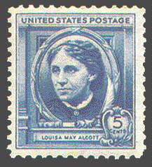 5¢ Louisa May Alcott