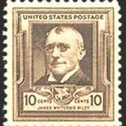 10¢ James W. Riley
