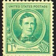 1¢ Stephen Foster