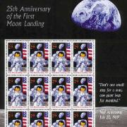 1994 Moon Landing 25th Anniversary Stamp - #2841