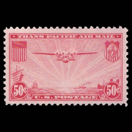 US C22 Airmail Stamp