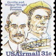 United States Airmail Stamps - 1978 - 31¢ Wright Bros. & Plane