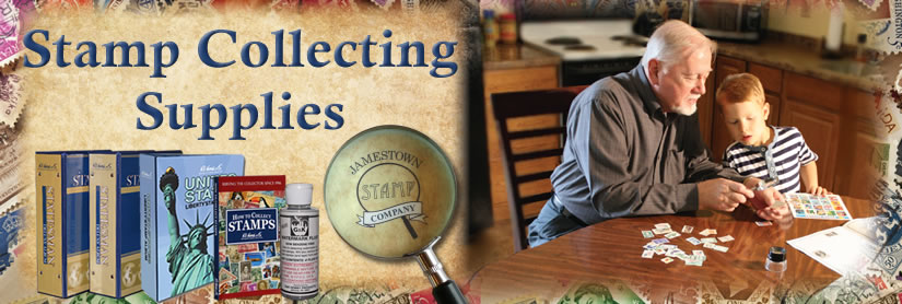 Stamp Collecting Supplies at Jamestown Stamp Company
