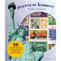 Statue Of Liberty Stamp Collection