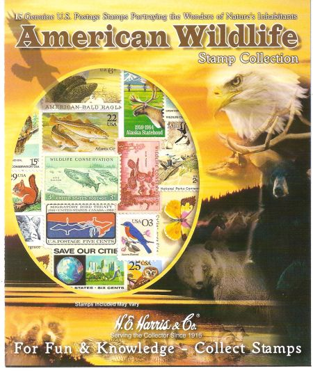 Get A Stamp Collection Celebrating American Wildlife